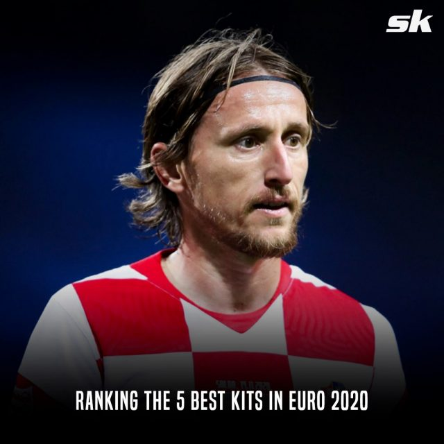 Ranking the 5 best kits in Euro 2020