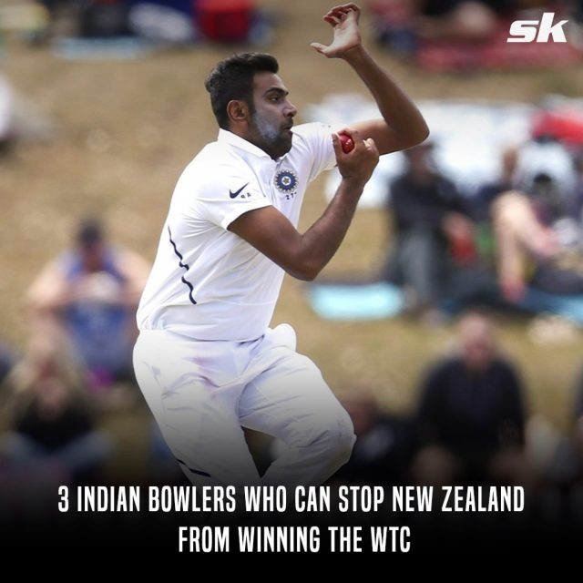 3 Indian bowlers who can stop New Zealand from winning the WTC