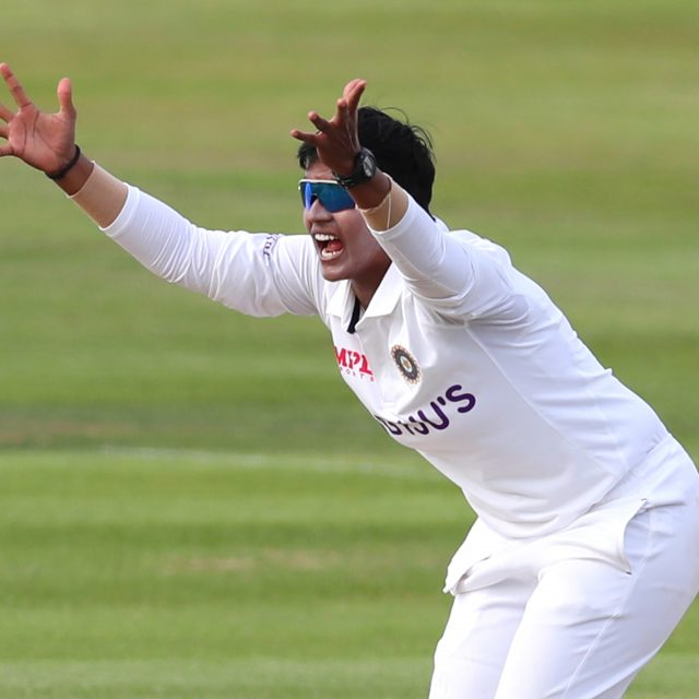 Rating the performances of India Women bowlers in the one-off Test against England Women